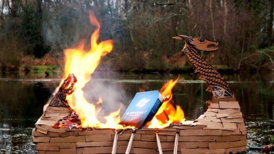 Windows 7 gets the Viking funeral it deserves