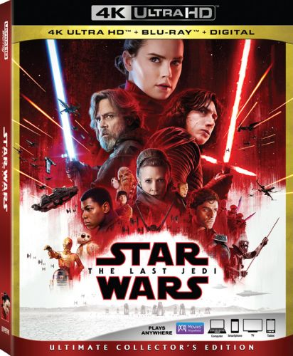 'Star Wars: The Last Jedi' 4K, Blu-ray, DVD and Digital Announced; 14 Deleted Scenes Included