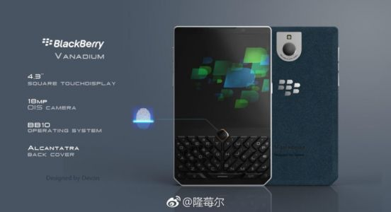 New Concept BlackBerry Surfaces Bearing Interesting Quirks
