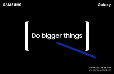 It's official: Samsung Galaxy Note 8 to be unveiled on August 23