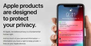Apple updates privacy site to outline changes to iOS 12 and macOS Mojave