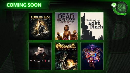 More Xbox Game Pass Titles Announced, See All Six Here