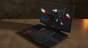 HP's New Gaming Laptop Has a Secondary Display Built in