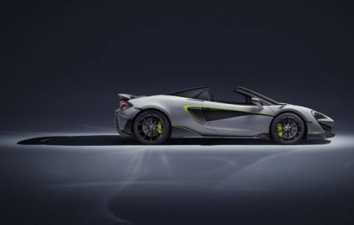 McLaren 600LT Spider by MSO adds green for envy