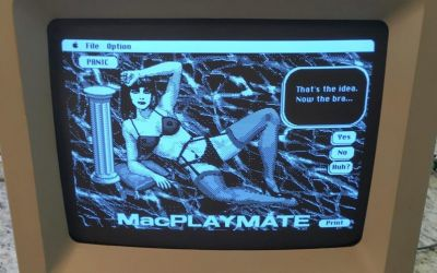 The NSFW tale of 'MacPlaymate,' the first interactive porn game for Mac