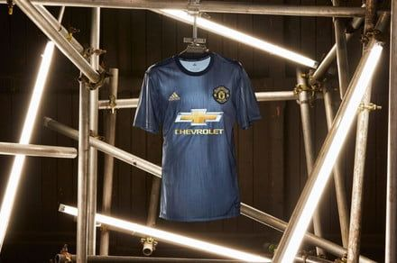 Manchester United's new soccer kit is made from trash pulled from the ocean