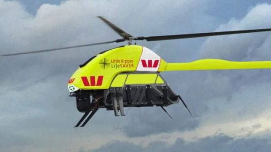 Lifeguard Drone Rescues Two Swimmers In Australia