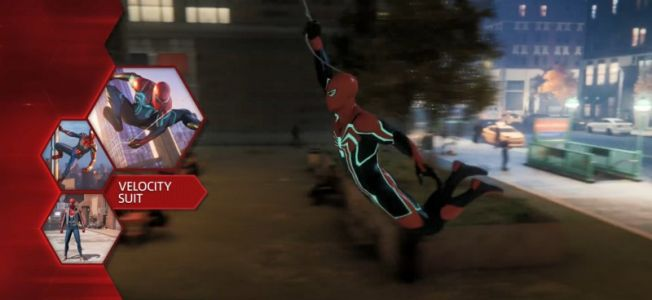 Velocity Suit For Spider-Man Shown Off As Part Of Preorder Pack
