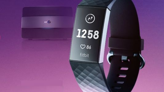 BT's best fibre broadband deal now comes with a free Fitbit Charge 3