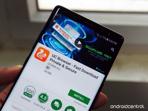 UC Browser returns to the Play Store with an updated app