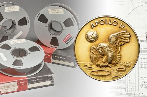 Apollo 11 Moon Memorabilia Sells for Millions in 50th Anniversary Auctions