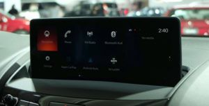 New infotainment on display at the Canadian Auto Show