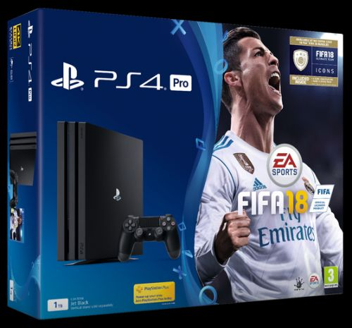PS4 Pro FIFA 18 Bundle with God of War and 3 Free Games under £380