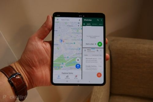 Samsung Galaxy Fold initial review: Foldy McFoldface