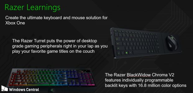 Razer and Microsoft may be working on an Xbox keyboard and mouse