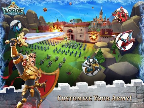 Popular MMO Strategy game Lords Mobile is honoured with