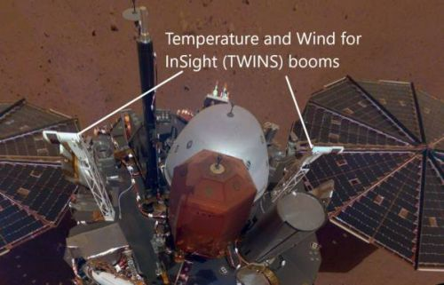NASA launches weekly Mars forecast site using InSight weather data