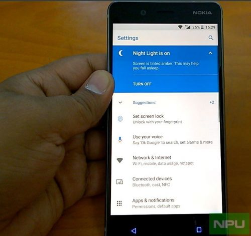 Nokia 3 gets Night Light feature with the latest Oreo Beta build