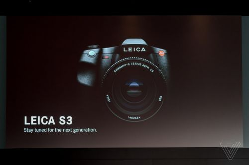Leica teases 64-megapixel S3 medium format camera for spring 2019
