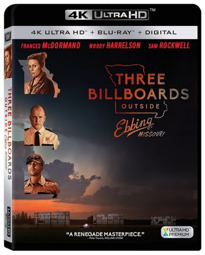 'Three Billboards Outside Ebbing, Missouri' Coming to 4K, Blu-ray, DVD and Digital This Month