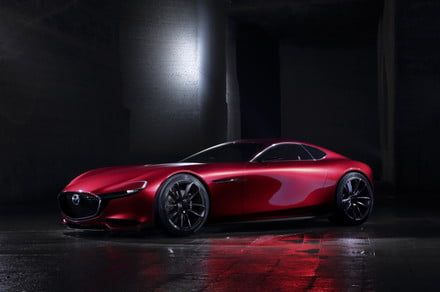 Mazda's famous rotary engines could return to as part of a hybrid-electric sports car