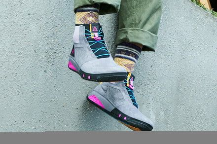 Nike spiffy-looking hiking boots are designed for urban adventurers