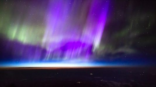 'Electric Blue Auroras' Delight Viewers During Geomagnetic Storm