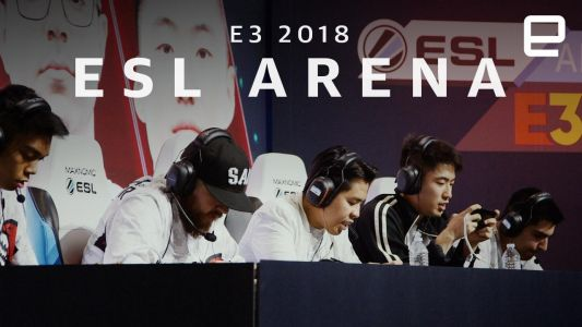 The esports arena at E3 2018 puts mobile gaming center-stage