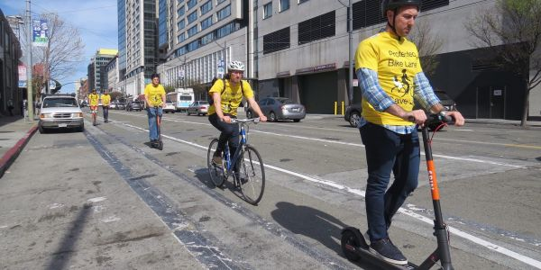 In two weeks, San Francisco will ban any companies renting out shared, dockless scooters unless they have a permit