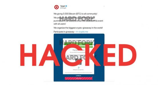 Target confirms its Twitter was hacked to promote a Bitcoin scam