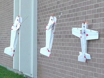 New drone perches on walls like a robotic bird