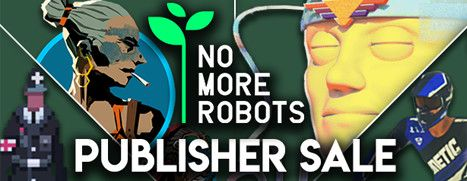 Daily Deal - No More Robots Publisher Sale, up to 35% off