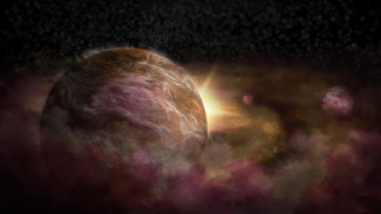Scientists Spot Three Infant Planets Around Newborn Star