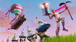 Fortnite's celebrating its one year anniversary with a huge birthday party