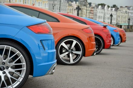 Audi kicks off the TT's 20th birthday bash with more performance and tech