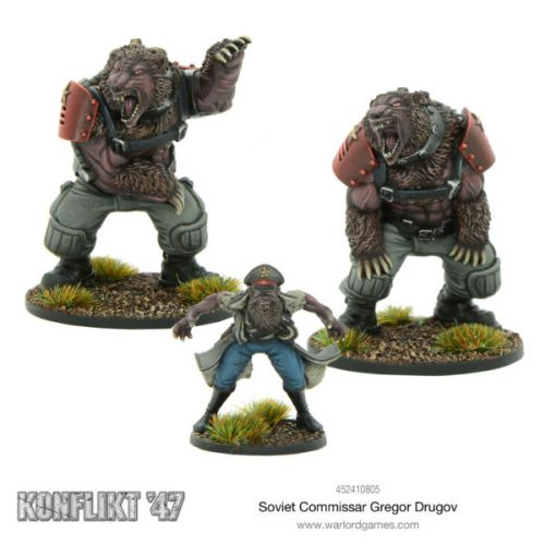 New Soviet Konflikt '47 Releases Available From Warlord Games