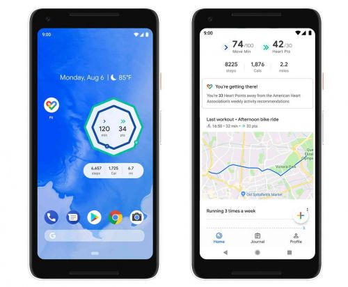 Google Fit update adds home screen widgets, breathing exercises on your watch, and more