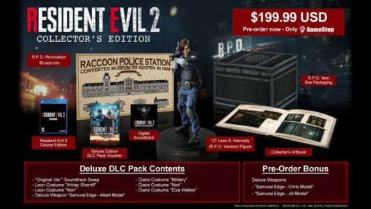 Comic-Con 2018: First Look At Resident Evil 2 Remake Collector's Edition