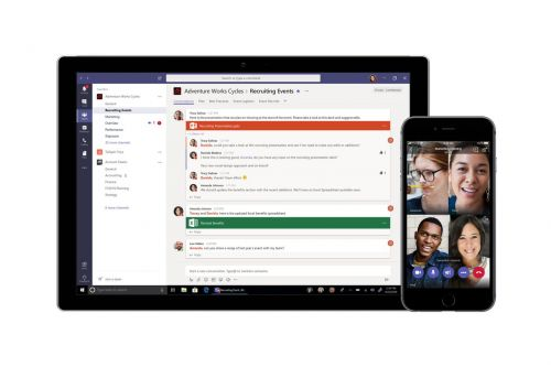 Microsoft matches Slack with a free version of its Teams chat app