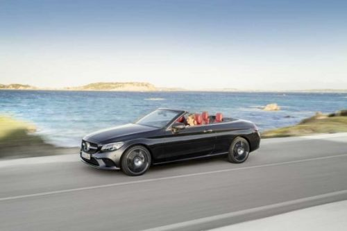 Mercedes C-Class Coupe and Cabriolet pack new four bangers