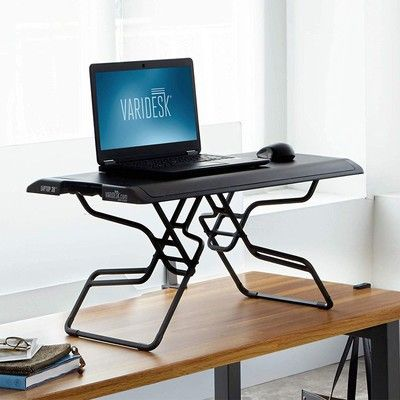 Create the perfect workspace with the discounted height-adjustable Varidesk