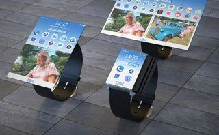 IBM patents a watch with a foldable, tablet-sized display