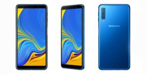 Samsung announces triple camera Galaxy A7 smartphone