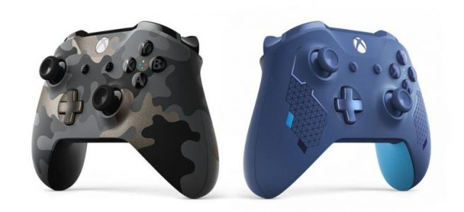 Microsoft announces Night Ops Camo and Sport Blue Xbox One controllers