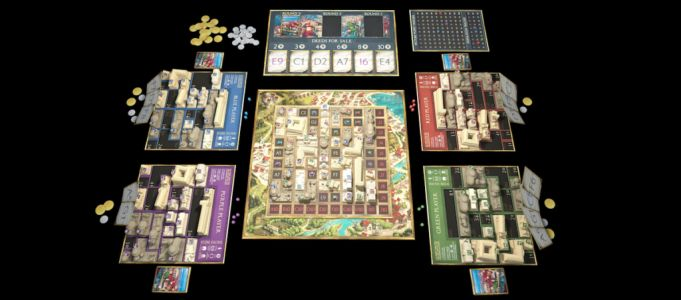 FOUNDATIONS OF ROME Is Lots of City-Building Fun