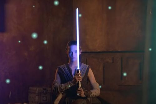 Disney teases a 'real-life' Star Wars lightsaber: Shut up and take our money!