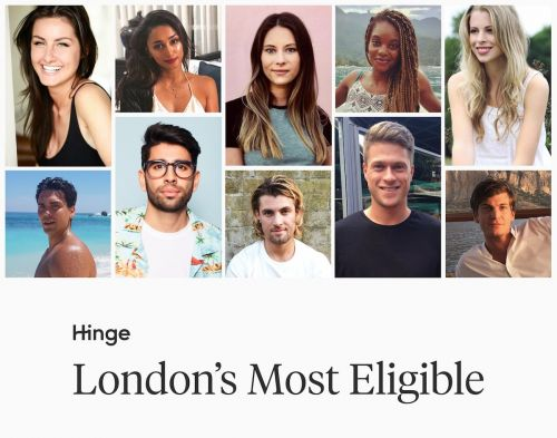 The 10 most eligible singles of 2018 in London, according to the dating app Hinge