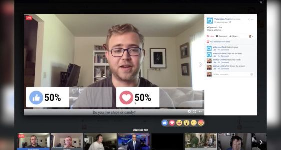 Facebook buys Vidpresso to make live broadcasts more interactive