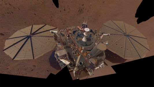Mars is a seismically active world, first results from NASA's InSight lander reveal