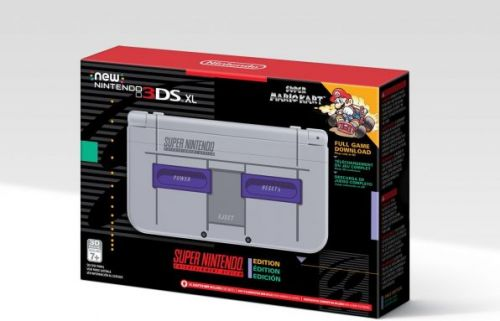 3DS XL SNES Edition goes up for pre-order at Amazon